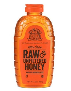 $9.66 Nature Nate's 100% Pure, Raw and Unfiltered Honey, 32 Ounce
