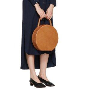 Mansur Gavriel: Tan Leather Circle Bag