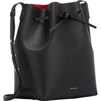 Mansur Gavriel Saffiano Large Bucket Bag