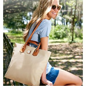 Up to 60% Off + Free ShippingSelect Totes @ Dooney & Bourke
