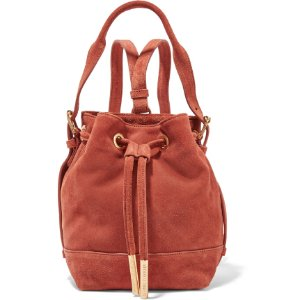 OPENING CEREMONY Izzy mini suede backpack