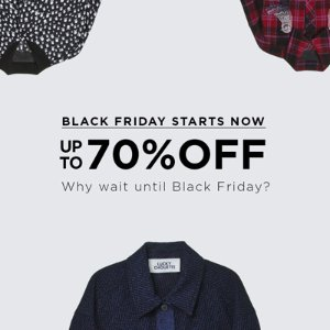 Up to 70% OffDesigner Sale @ KOLONmall