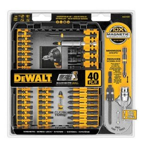 DEWALT 40 Piece Impact Ready Screwdriving Set