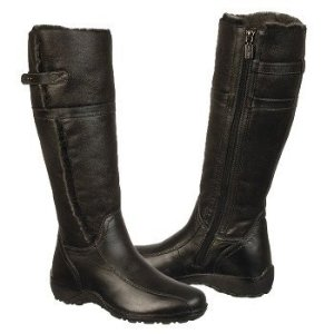 AQUA COLLEGE Karilynn 黑色长靴