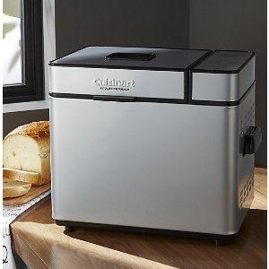 $63.99包邮 和面神器Cuisinart CBK-100 2磅可编程面包机