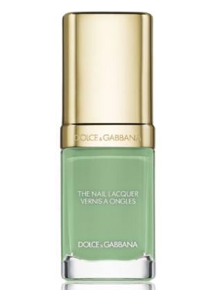 Dolce & Gabbana 指甲油 mint