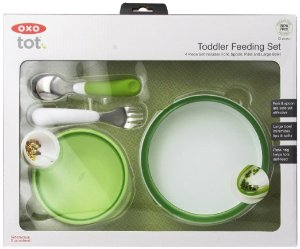 OXO Tot 4-Piece Feeding Set