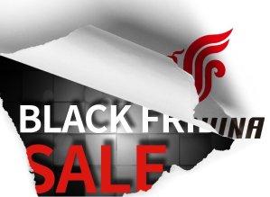 15% discountU.S. – China/Asia Black Friday Sale @ Air China