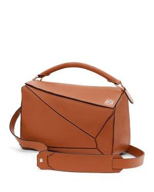Loewe Puzzle Bag棕色