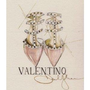 低至6折+包邮!Valentino官网季末大促,各色铆钉鞋,码全!