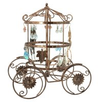 Cinderella Rotating Carriage Jewelry Storag
