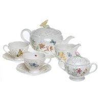 Lenox Butterfly Meadow 8-Piece Tea Set