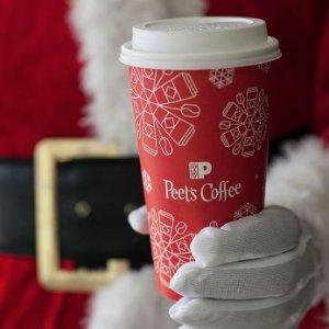 免费小杯咖啡或茶Peet's Coffee & Tea 免费赠送小杯滴滤咖啡或茶,仅限今天!