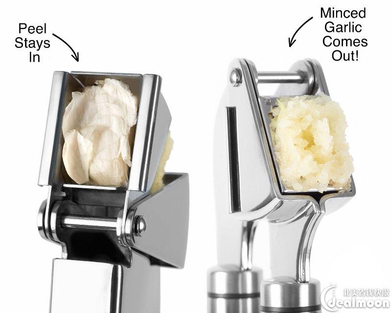 Garlic Press 压蒜器、切蒜蓉神器