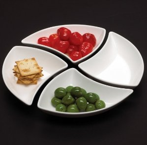 Dealmoon Singles Day Exclusive!Made in Germany!New Wave Set of 4 Appetizer Plates @ Villeroy & Boch Tableware