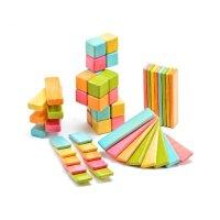 52 Piece Tegu Original Magnetic Wooden Block Set