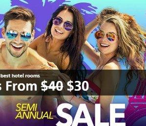 From $30Semi Annual Sale @ Caesars Entertainment