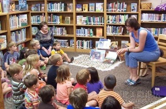 故事会 美国图书馆免费儿童活动