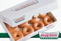 仅$1.00,买一盒第二盒优惠Krispy Kreme 门店甜甜圈特卖