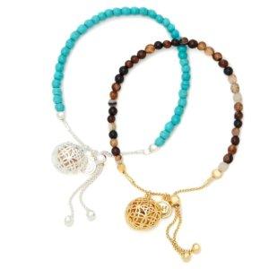 Dealmoon Exclusive: $75Turquoise & Sand Friendship Bracelet Duo