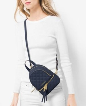 900be89fda07 From $85.5 MICHAEL MICHAEL KORS Rhea Extra-Small Backpack @ Michael Kors