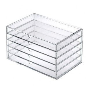 $10(reg.$38)Acrylic Case 5 Drawers