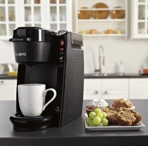 Mr Coffee Single Cup Coffeemaker Black Dealmoon