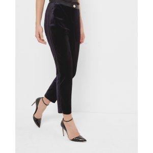 Velvet tuxedo suit pants - Blue | Jeans & Pants