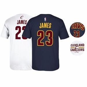 official photos 50a33 7296d 2016 Lebron James Cleveland Cavaliers NBA Finals Jersey T ...