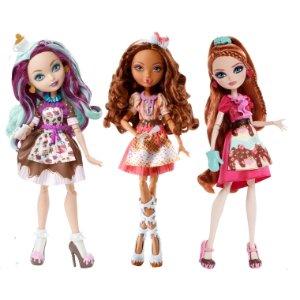 5折Mattel 现有精选Monster High, Ever After High玩具促销