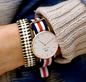 秒杀直邮到手价为¥799(原价¥1180)Daniel Wellington 丹尼尔•惠灵顿 Classic系列 玫瑰金表圈表扣 石英手表