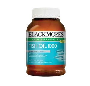 Blackmores 400 Caps Fish Oil