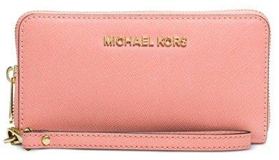 b32d1439977cc1 From $56.7 MICHAEL Michael Kors Jet Set Travel Wallets on Sale @ macys.com  - Dealmoon
