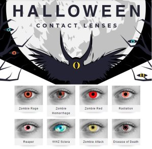 15% OffHalloween Contact Lenses @AC Lens, Dealmoon Exclusive