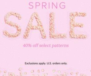 40% offSpring Sale @ Vera Bradley