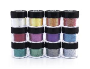 Professional Cosmetic Grade Glitter Powder Kit