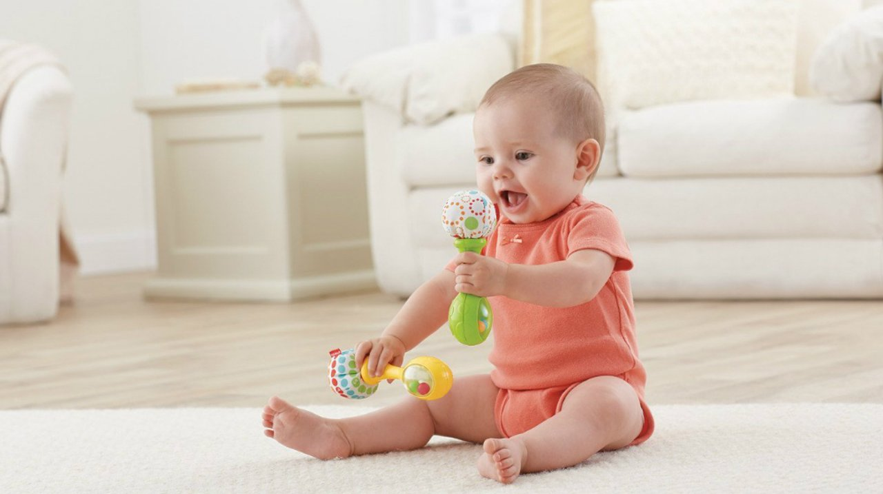 挑玩具也要讲科学:4-7个月宝宝玩具推荐
