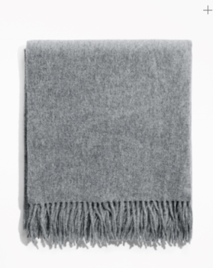 Other Stories Oversized Wool Scarf