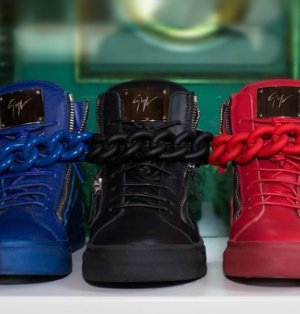 3d0c71a40938f Giuseppe Zanotti Men's Sneakers Sale @ Saks Off 5th Up to 60% Off ...