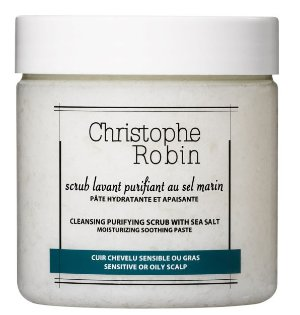 15% Off+ Free GiftCHRISTOPHE ROBIN CLEANSING PURIFYING SCRUB WITH SEA-SALT @ HQHair UK