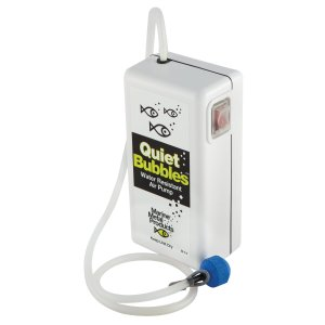 Marine Metal Quiet Bubbles Air Pump