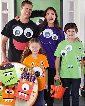Happy Halloween!Michaels Stores Kids' Craft Classes in October