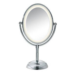 Conair Oval Chrome Double-Sided Mirror