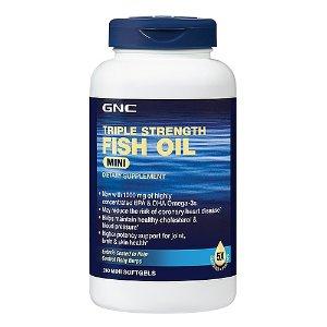 GNC Triple Strength Fish Oil