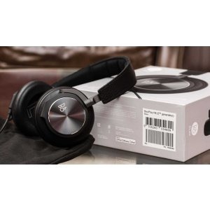EUR 159(¥1176.29/$175.75)史低价可直邮!Bang & Olufsen BeoPlay H6 封闭式耳机 黑色
