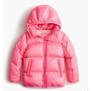 $25.79(原价$118)包邮J.Crew 女大童保暖外套, 10-16岁尺码