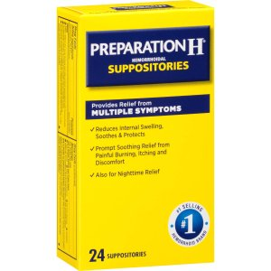 Preparation H Suppositories, 24 ct