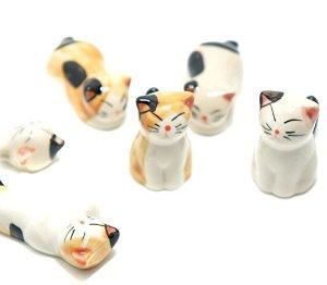 Cute Cat  Chopsticks Rest