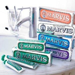 8折收牙膏中的爱马仕!Mankind UK精选Marvis牙膏热卖