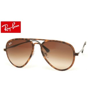 Dealmoon Exclusive!Ray Ban Aviator Light Ray Tortoise gunmetal brown glasses